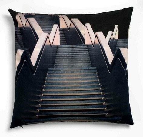 Print cushion, stairs