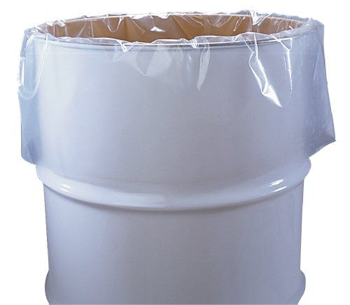 55 Gallon Clear Plastic Drum Liners Food Grade 38 x 63 4Mil Roll of 50 ** More info could be found at the image url.