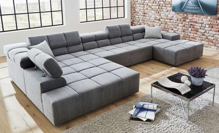 Megapol Free Plus Wohnlandschaft Ecksofa Sofa 2-Sitzer ...
