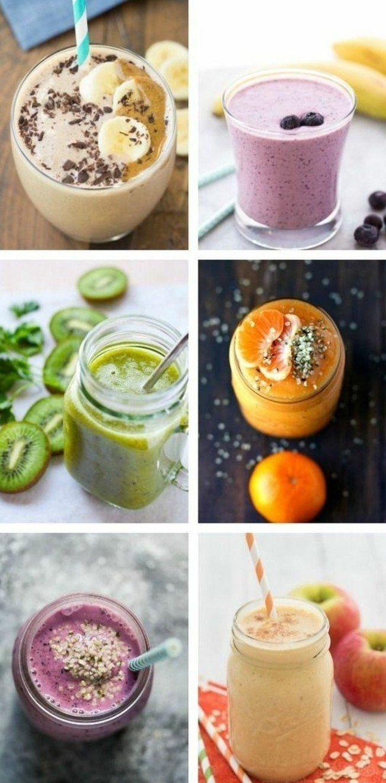 recettes smoothies pour bien commencer la journée, smoothie énergisant au petit déjeuner