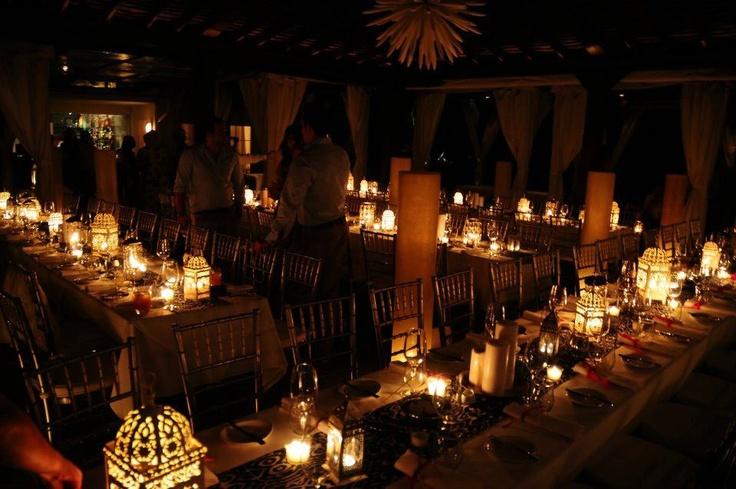 Al & Elly's wedding reception decor....I adore this!