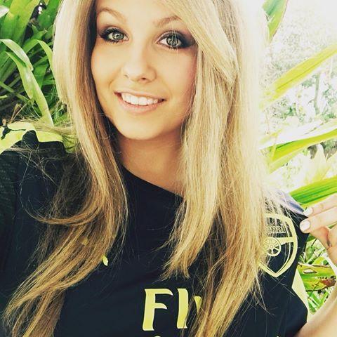 beautiful Goonerette #COYG #goonerette #Arsenal