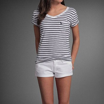 cute striped pocket top from abercrombie kids--ON SALE for $13.65