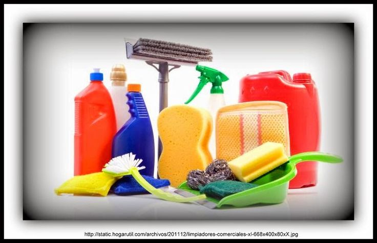BRICOMANIACOS: Productos de limpieza, ¿qué y cuándo utilizar?