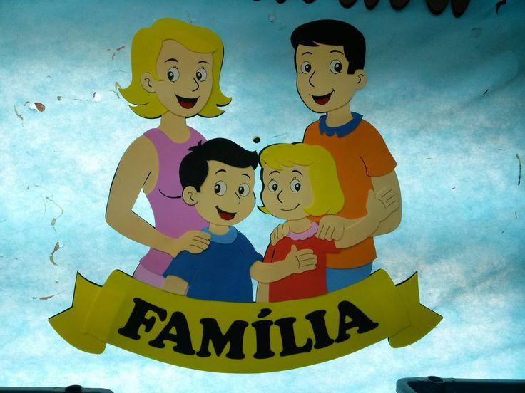 Imagen de la familia en molde buscar con google - Manualidades en familia ...