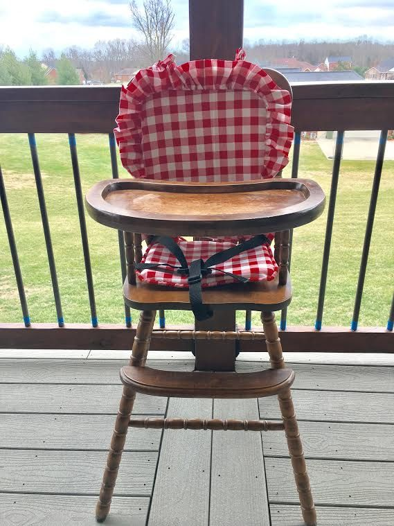 Wooden High Chairs, High Chair Cushion For Wooden Chairs