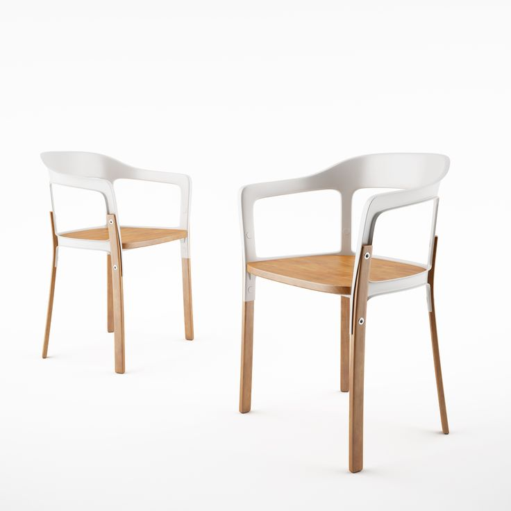 Free 3d model Steelwood chair by Magis dimensiva