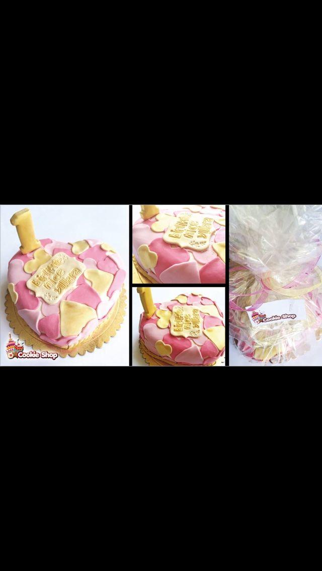 Şekerhamurlu tasarım pasta.