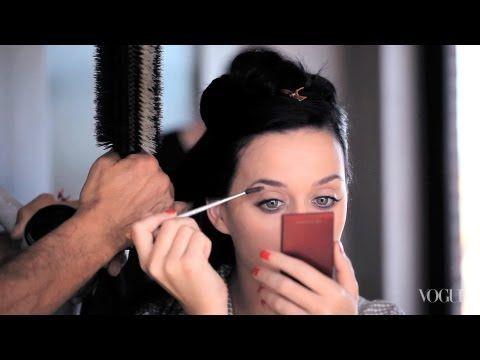 Katy Perry on makeup