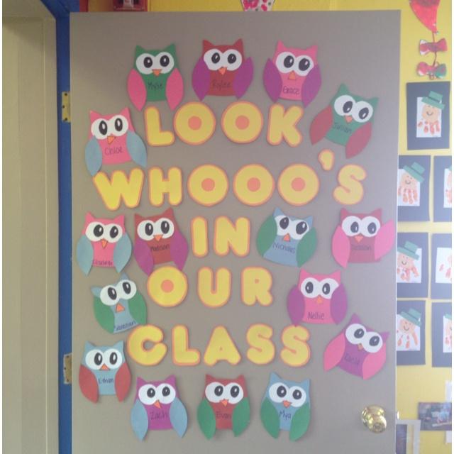 My classroom door? It's a distinct possibility