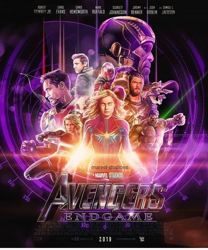 Avengers: Endgame Fan Made Poster