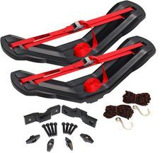 single saddle style kayak roof top carrier - check it out