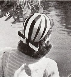 Hats were all the range in the 1940s, no woman would be without one.