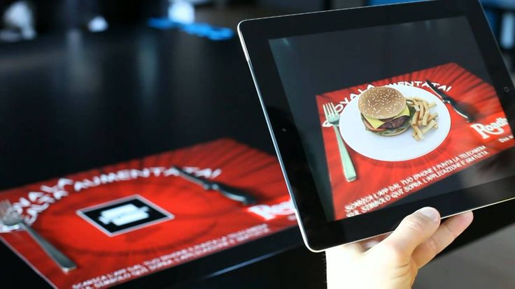 Augmented Reality - Virtual Meals Demo