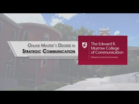 Online Strategic Communication Masters Degree (MA) | WSU Online | Washington State University | Global Campus