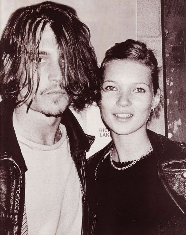 Johnny Depp And Kate Moss By Annie Leibovitz 1994