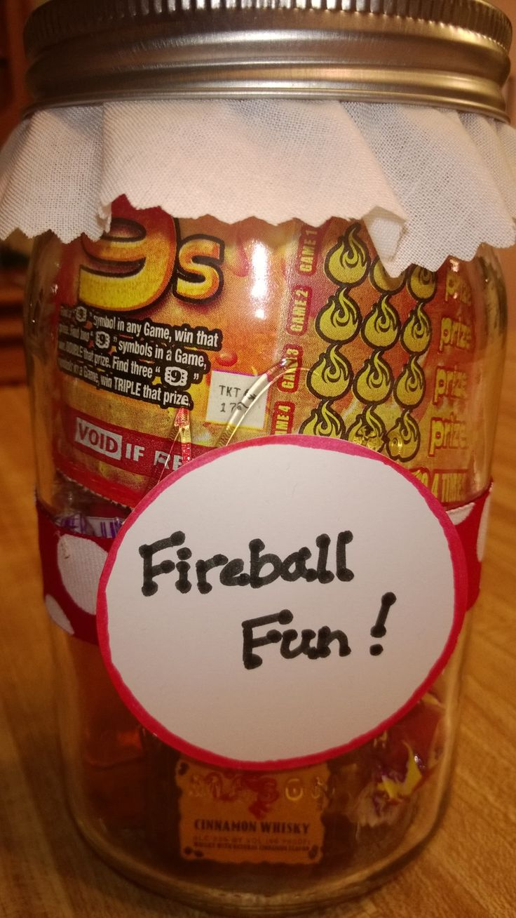 Fireball Fun Jar - Yankee Swap