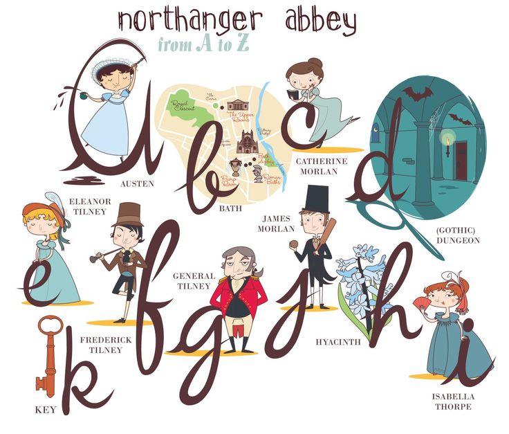 44 best northanger abbey images on pinterest period dramas jane northanger abbey alphabet ccuart Images