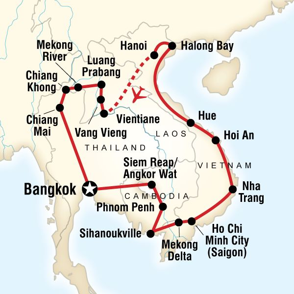 Southeast Asia dream trip