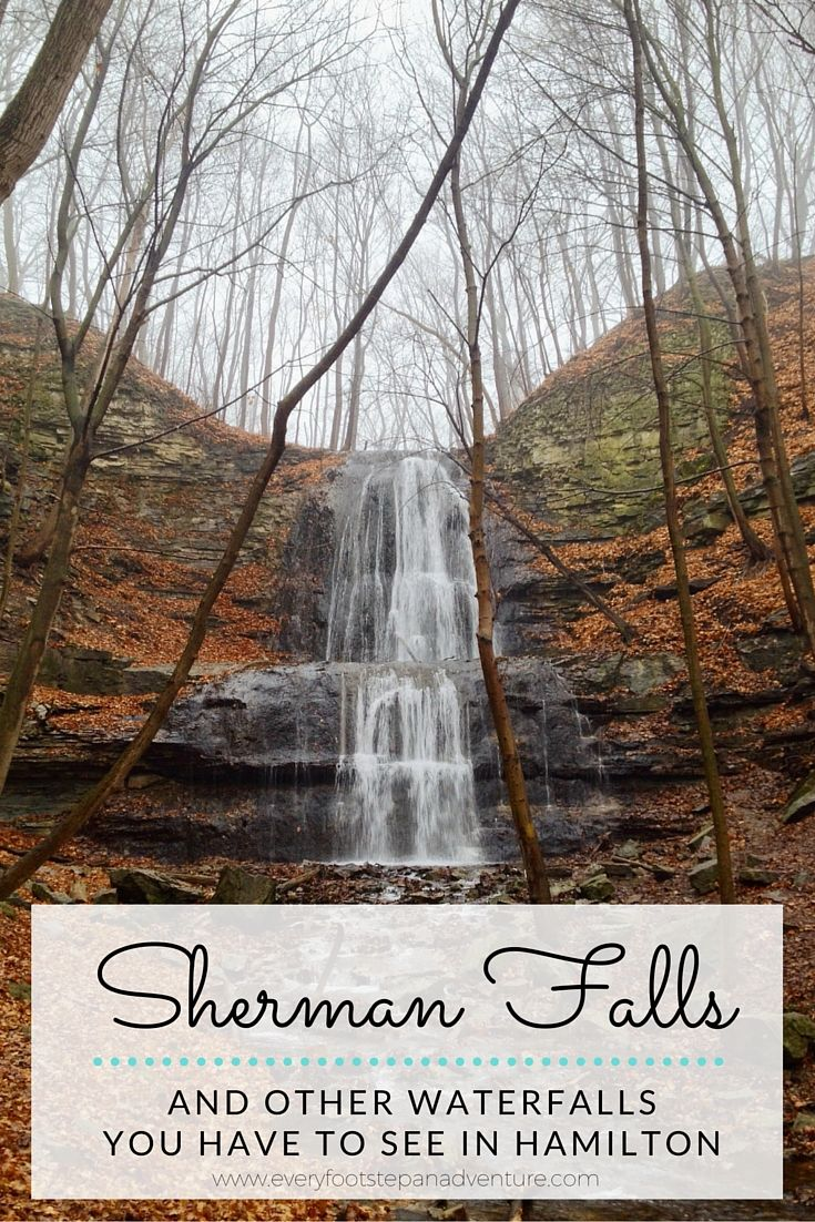 Incredible Hamilton Hikes: Tiffany and Sherman Falls