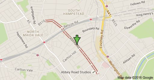 Mapa de Abbey Rd, London NW6 4DN, Reino Unido