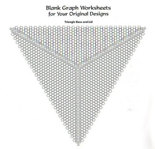 234 best beading graph paper images on Pinterest Bead weaving - triangular graph paper