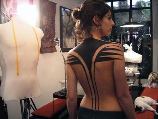 solid black tattoo arm - Google Search