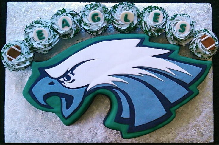 #Eagles cake! How cool! Thanks for sharing Heidi.: Pretty Cakes, Cakes Cupcake, Winter Events, Dope Cakes, Eagles Green, Parties Ideas, Philly Eagles, Eagles Cakes, Philadelphia Eagles