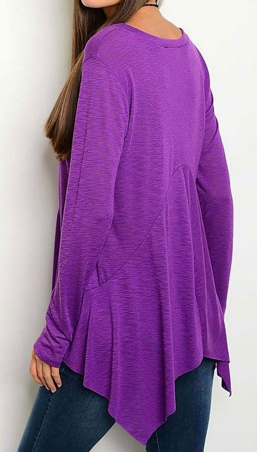 Purple Cowgirl Top