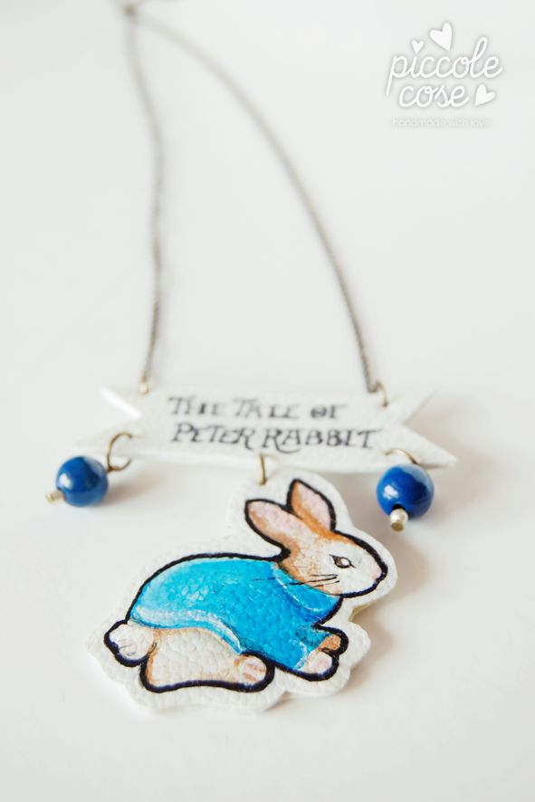 Piccolecose. Collana, Peter Rabbit Peter Rabbit necklace