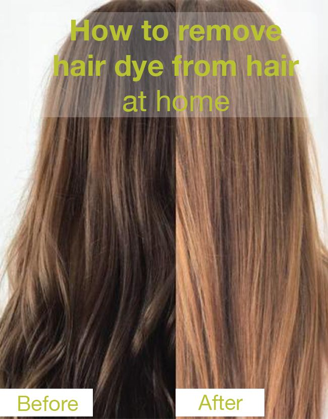 How To Remove Hair Dye From Hair At Home In 2020 Hair Dye Removal Stripping Hair Dye Removing Black Hair Dye
