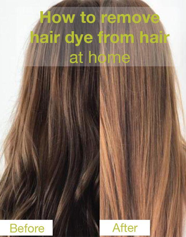Tips For Removing Hair Dye From Skin Homemade Hair Products Homemade Hair Dye Hair Dye Removal
