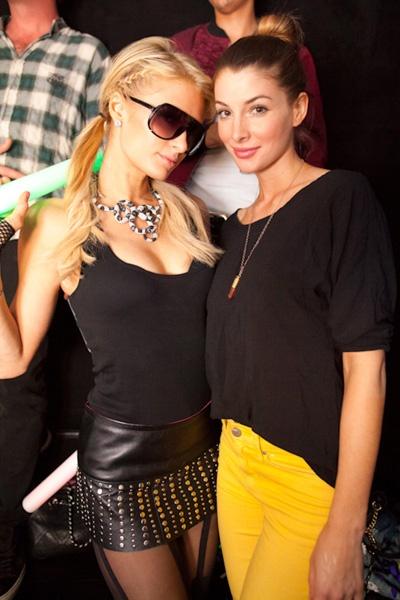 Stalker alert! Paris Hilton spotted at Afrojacks Playhouse Nightclub gig