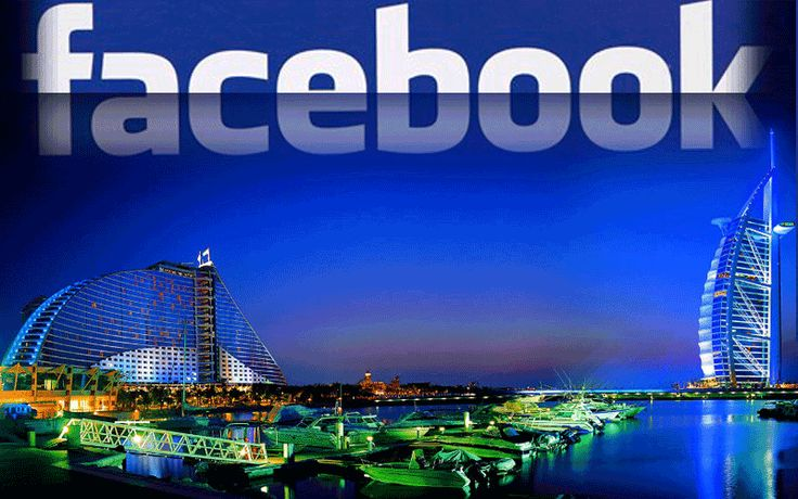 Facebook is the most popular social media in the United Arab Emirates.