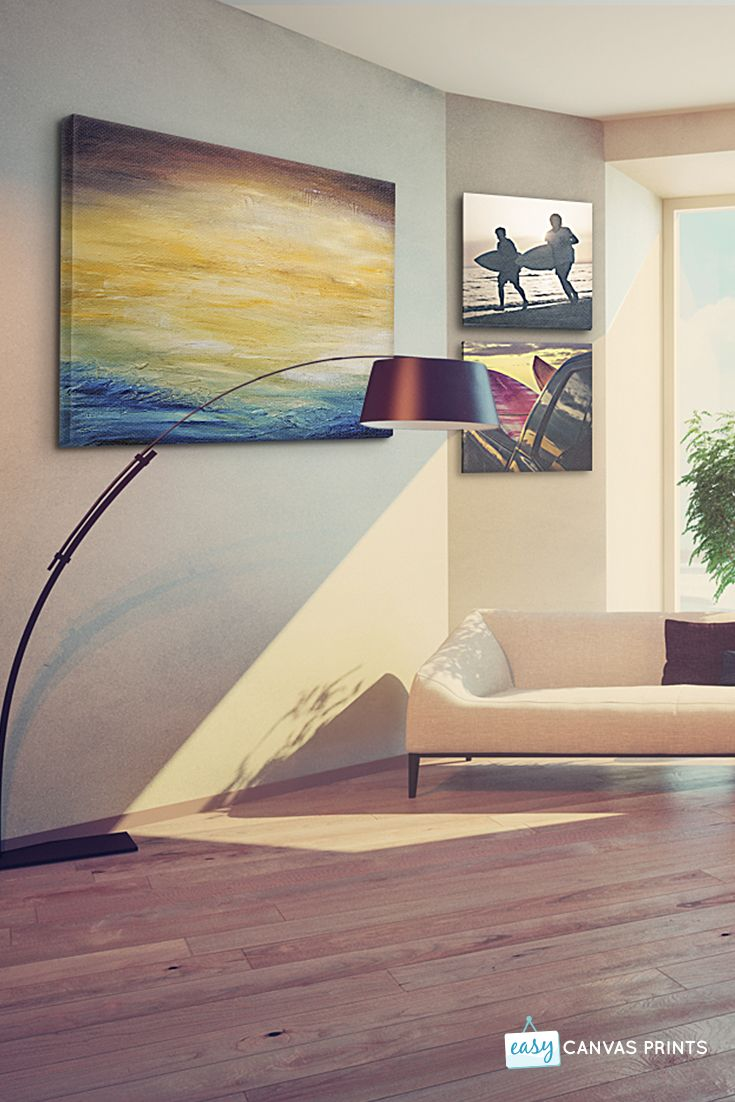Canvas display ideas to refresh your home