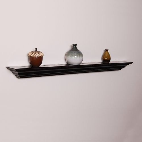 "60"" Crown Molding Shelf Wall Mount Floating Display Mantel Ledge Fireplace Rack"