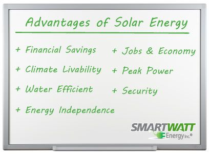 #Solar energy is widely accepted as an excellent source of energy, but it more than that. Solar energy offers a range of benefits—multidimensional, undeniable, and paradigm-shifting. Here are some of the biggest advantages of solar power, but this list is by no means exhaustive.