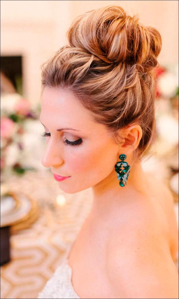 Bridal Hairstyles Loose Bun | Fade Haircut