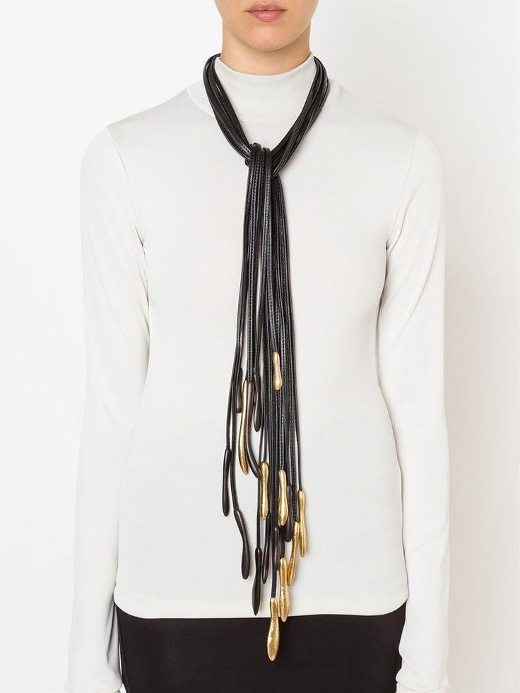 Monies Lange Halskette Mit Mehreren Riemen - - Farfetch.com