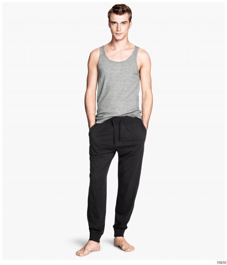 H&M Highlights Cozy & Classic Mens Loungewear + Pajamas image HM 2014 Mens Loungewear Pajamas 006 800x935
