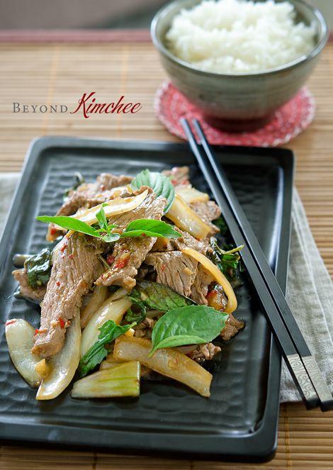 Thai Beef and Basil Stir-Fry