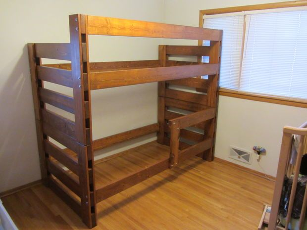 Top 70 ideas about bunk bed plans on pinterest for Jay be bunk bed