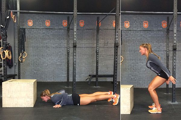 Work Your Entire Body With THIS Killer Move From CrossFitter Amanda Douglas| THE MOVE: Burpee Box Jumps (Pt. I)