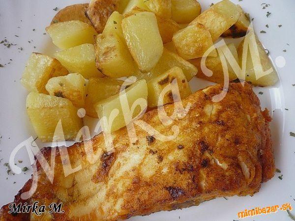 Jednoduchá pečená ryba