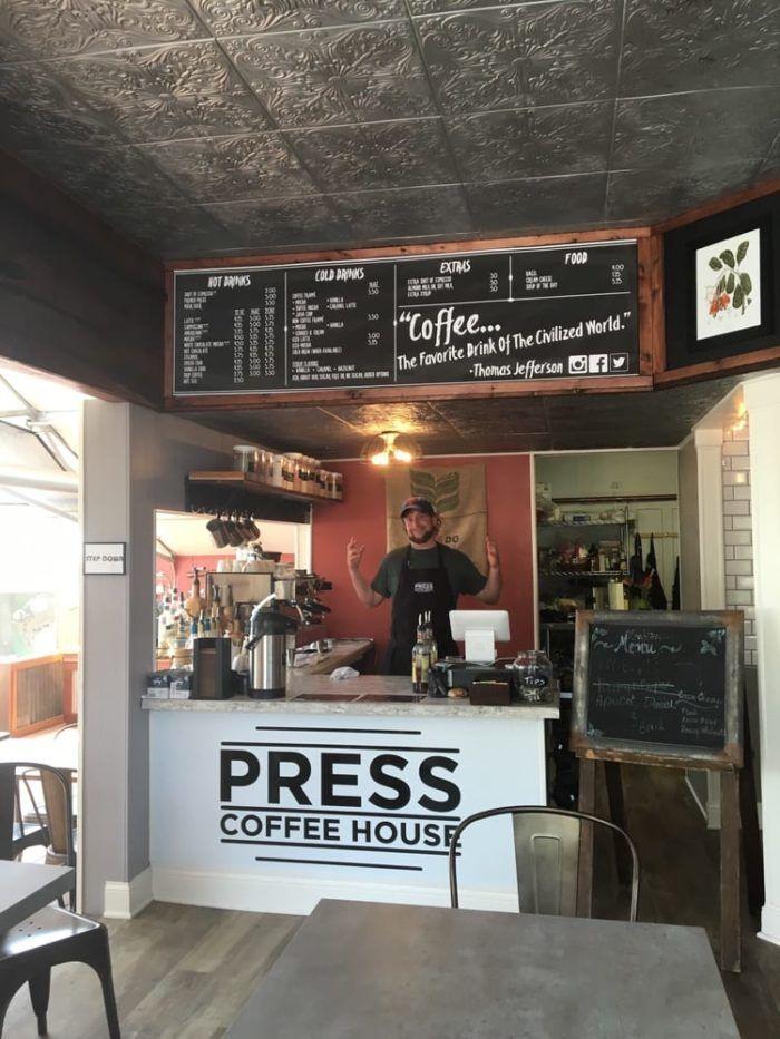 4. Press Coffee House, 209 Gibson St., Glendive