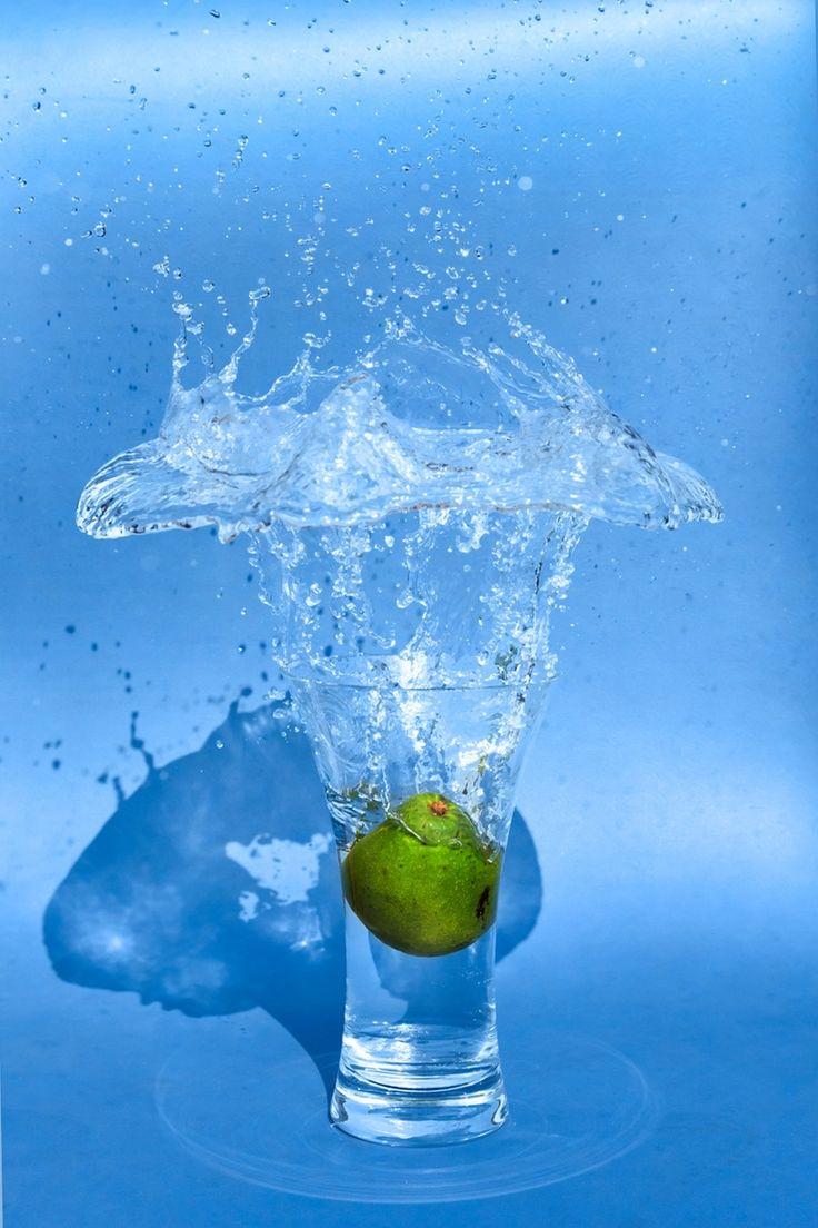 Green Avocado Into Splashing Water by Paweł Chrząszczewski on tookapic