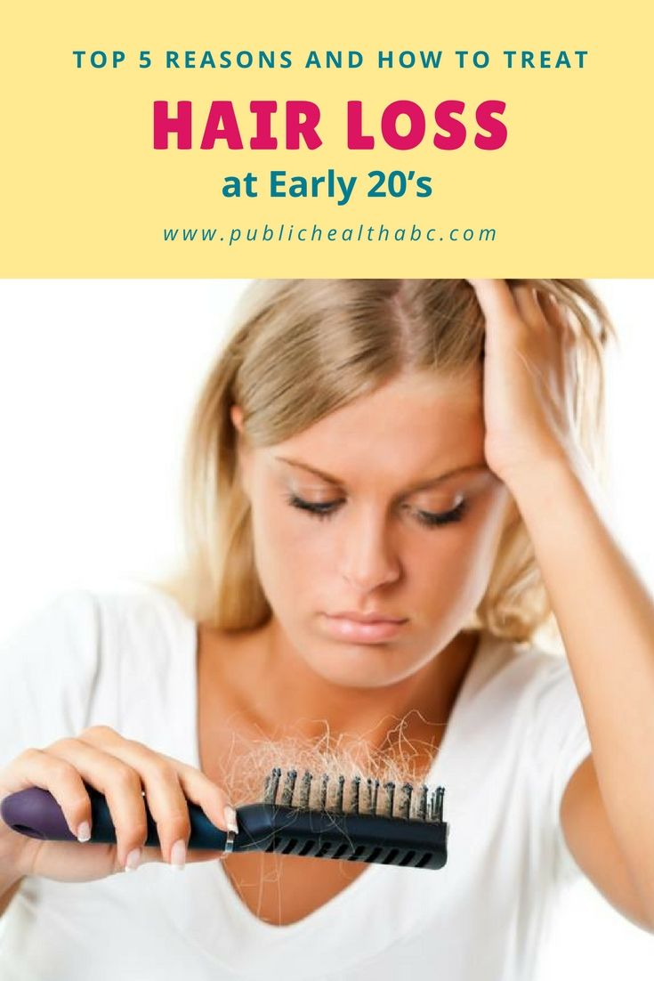 Top 5 Reasons and How to Treat Hair Loss at Early 20's