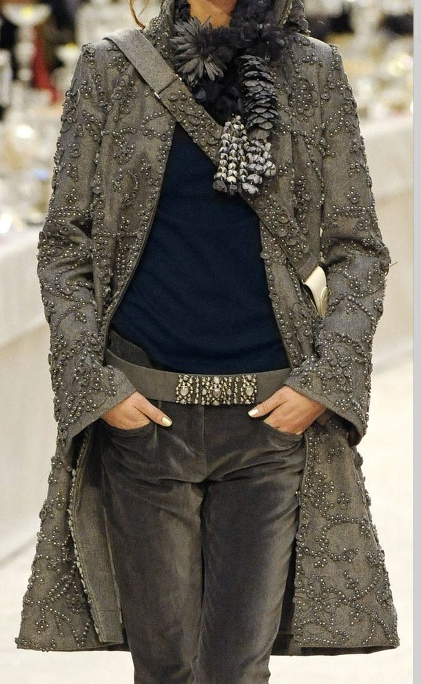 details in this Chanel coat