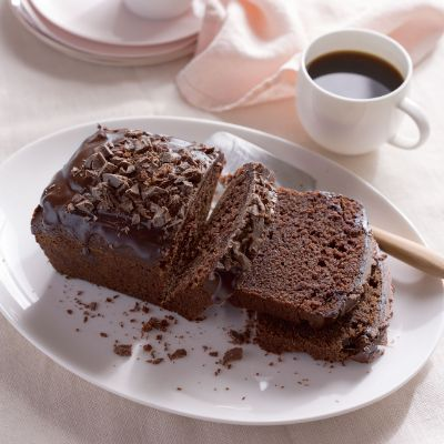 Chocolate and sweet potato loaf cake