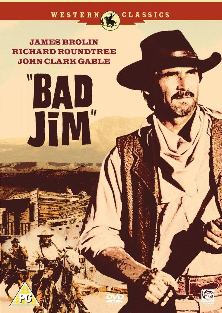 Bad Jim (1990) - James Brolin DVD
